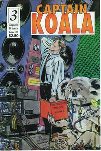 Cover of Captain Koala issue 3 - OZ-FM