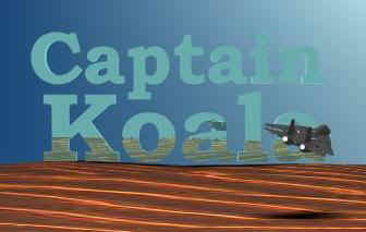 Opening logo of Captain Koala movie (Original movie)